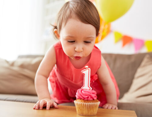 How do I get my one year old to start talking?