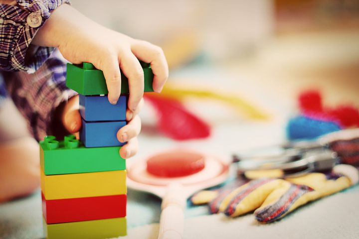 Lego provides so many wonderful language opportunities, all while having fun & bonding with your child.