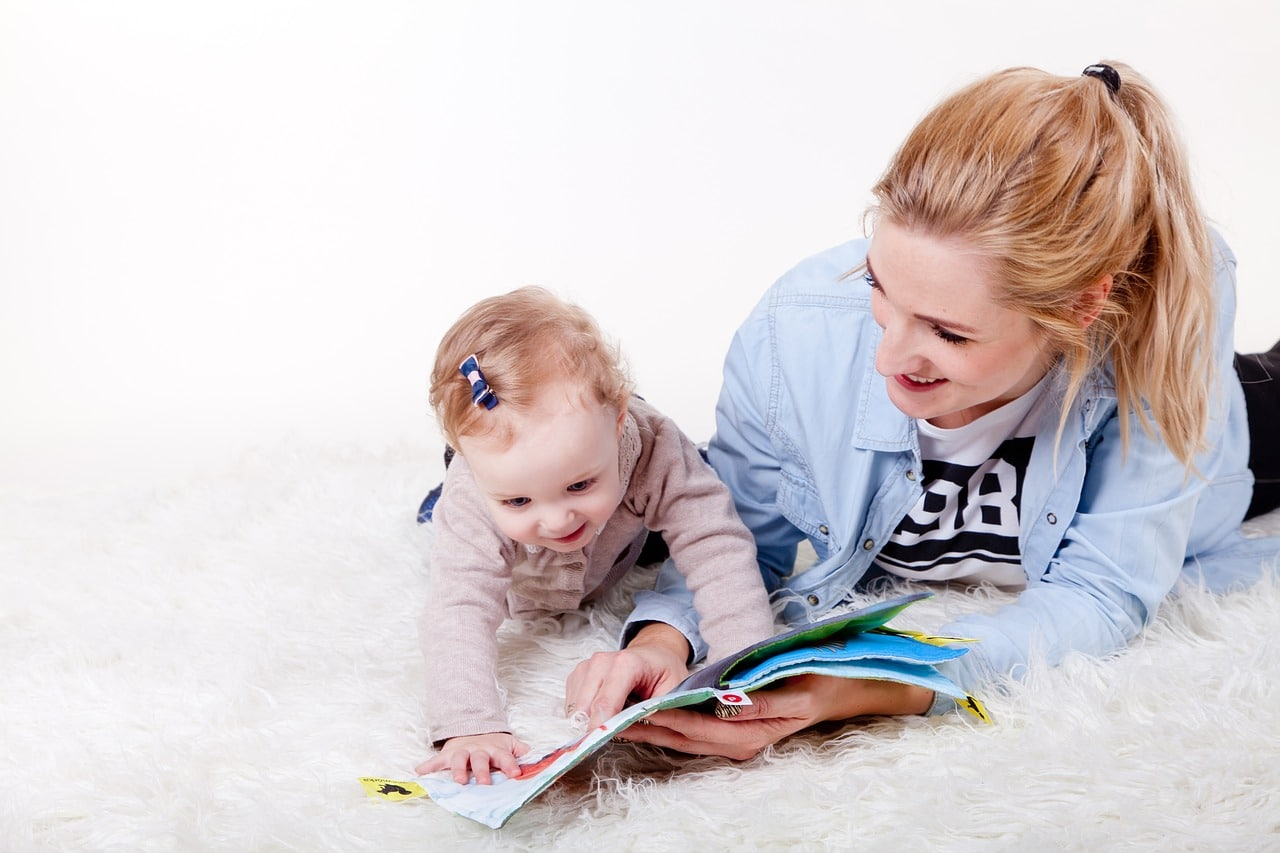 Reading with your baby is so important