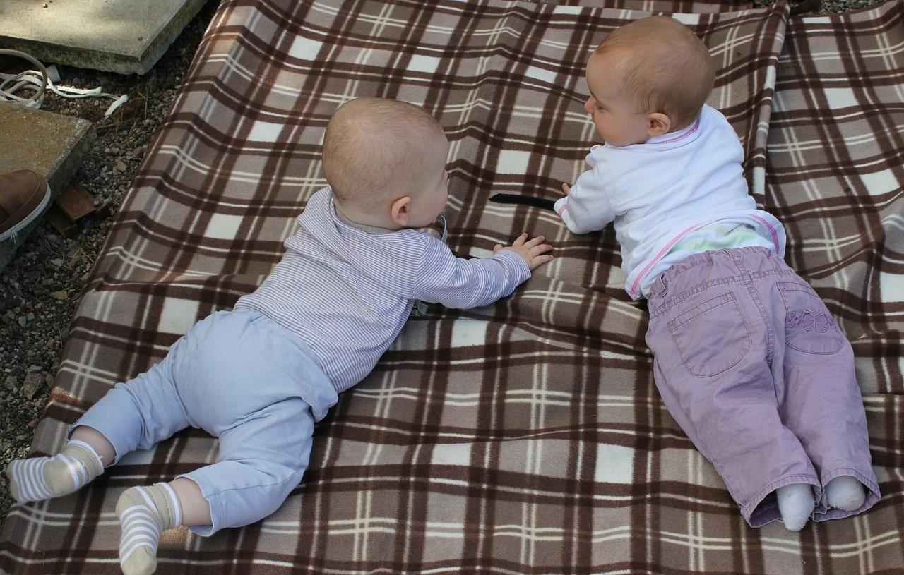 Interaction between babies is important.